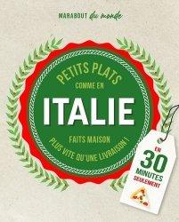 Dernières parutions sur Cuisine et vins, Petits plats Italiens en 30 minutes