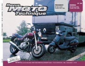 Dernières parutions dans Revue moto technique, Peugeot  SV 125 et 125 L (modèles 1991 à 1995)  Honda CB 750 Seven Fifty ( modèles 1992 à 2000)
