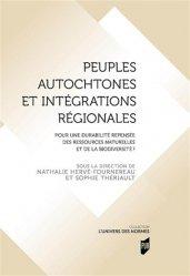 Dernières parutions sur Droit international public, Peuples autochtones et integrations regionales