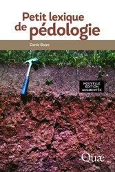 Souvent acheté avec Écologie générale, le Petit lexique de pédologie