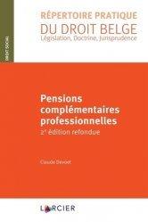 Dernières parutions sur Droit international privé, Pensions complémentaires professionnelles