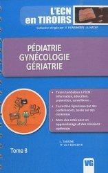 Dernières parutions dans L'ECN en tiroirs, Pédiatrie - Gynécologie - Gériatrie