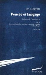 Dernières parutions sur Psychologie clinique, Pensée et langage