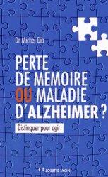 Souvent acheté avec Démences, le Perte de mémoire ou maladie d'Alzheimer ?