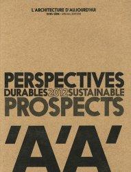 Souvent acheté avec Design urbain, le Perspectives durables 2012