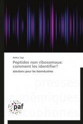 Dernières parutions sur Éthique, normes et indicateurs, Peptides non ribosomaux: comment les identifier?