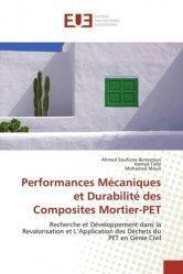 Dernières parutions sur Résistance des matériaux, Performances Mécaniques et Durabilité des Composites Mortier-PET