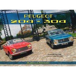 Nouvelle édition Peugeot 204 - 304