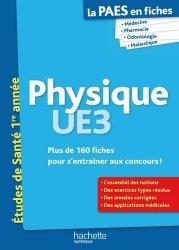 Souvent acheté avec Santé Société Humanité  UE7, le Physique UE3