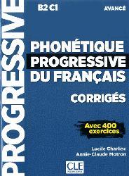 Dernières parutions sur Phonétique, Phonétique progressive du français, corrigés