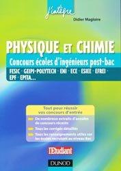 Dernières parutions sur Concours chimie, Physique et Chimie