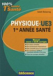 Souvent acheté avec La chimie de l'UE1, le Physique - UE3