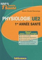 Souvent acheté avec Manuel d'anatomie générale, le Physiologie