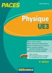 Souvent acheté avec Toute l'UE3 en QCM PACES, le Physique UE3