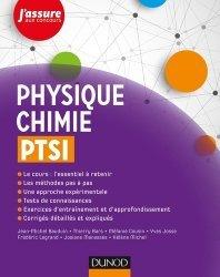 Dernières parutions dans J'assure aux concours, Physique-Chimie PTSI