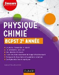 Dernières parutions sur BCPST 2ème année, Physique-Chimie BCPST 2e année