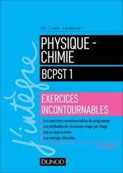 Dernières parutions sur BCPST 1ère année, Physique-Chimie BCPST 1 - Exercices incontournables