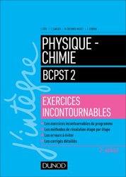 Dernières parutions sur BCPST 2ème année, Physique-Chimie BCPST 2 - Exercices incontournables