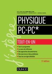 Dernières parutions dans J'intègre, Physique tout-en-un PC-PC*