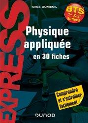 Souvent acheté avec Lexique scientifique anglais/français, le Physique appliquée en 30 fiches BTS 1re & 2e années
