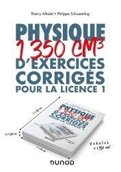 Dernières parutions dans Hors collection, Physique - 1350 cm3 d'exercices corrigés pour la Licence 1