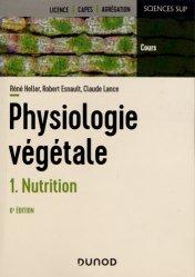 Dernières parutions dans Sciences sup, Physiologie végétale