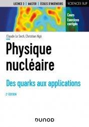 Dernières parutions dans Sciences sup, Physique nucléaire - 2e éd.