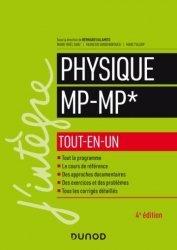 Dernières parutions sur Prépas - Écoles d'ingénieurs, Physique tout-en-un MP-MP* - 4e éd.
