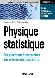 Dernières parutions sur LMD, Physique statistique - Des processus élémentaires aux phénomènes collectifs