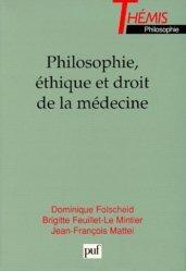 Souvent acheté avec Sciences humaines et sociales PCEM 1, le Philosophie, éthique et droit de la médecine
