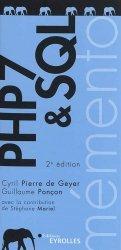 Dernières parutions sur Conception - Réalisation - Référencement, PHP 7 & SQL