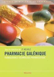 Souvent acheté avec Chimie pharmaceutique, le Pharmacie galénique