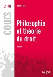 Dernières parutions dans Cours Dalloz, Philosophie et théorie du droit. Edition 2017