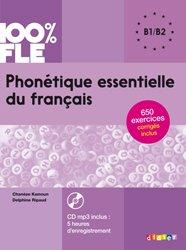 Dernières parutions dans 100% FLE, Phonétique Essentielle du Français