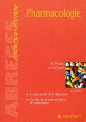 Souvent acheté avec Biologie cellulaire et moléculaire, le Pharmacologie