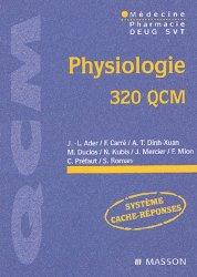 Souvent acheté avec Biochimie, le Physiologie 320 QCM