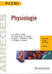 Souvent acheté avec Exercices corrigés et commentés de physiologie, le Physiologie