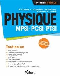 Souvent acheté avec Physique 1ère année MPSI, PTSI, le Physique MPSI - PCSI - PTSI