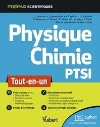 Dernières parutions sur 1ère année, Physique-chimie PTSI