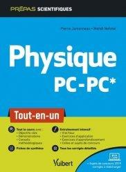 Dernières parutions dans Vuibert Prépas, Physique PC/PC