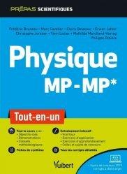 Dernières parutions dans Prépas scientifiques, Physique MP/MP