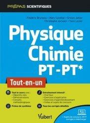 Dernières parutions dans Vuibert Prépas, Physique-Chimie PT/PT