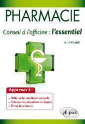 Pharmacie : conseil à l'officine
