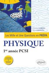 Dernières parutions sur 1ère année, Physique 1re année PCSI