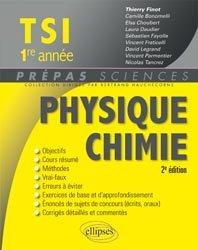 Dernières parutions sur 1ère année, Physique Chimie  TSI  1re année