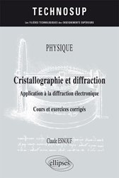 Dernières parutions dans Technosup, Physique - Cristallographie et diffraction