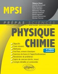 Dernières parutions sur 1ère année, Physique-Chimie MPSI
