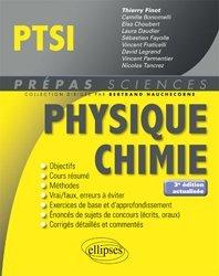 Dernières parutions dans Prépas sciences, Physique chimie PTSI