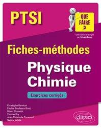 Dernières parutions dans que faire, Physique Chimie PTSI