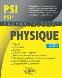 Dernières parutions sur 2ème année, Physique PSI - PSI*